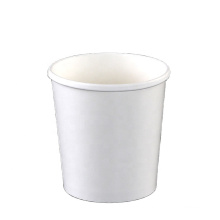Best quality disposable white kraft paper soup rice bowl custom logo design all size packaging cup bowl