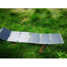 Bolso plegable del cargador de la energía solar del ejército 60W