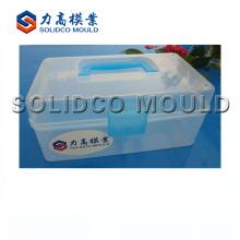 Molde plástico da injeção da caixa de armazenamento do molde do recipiente da caixa do comprimido 2018