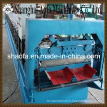 Machine de formage de rouleaux de feuilles de toit en acier auto-découpé en acier (AF-R360)