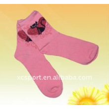 Mujeres calcetines de algodón lindo