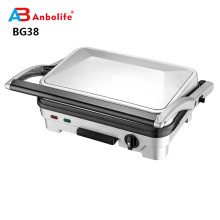 Detachable plate sandwich Fat free grill pan With Nonstick Plates electric panini  contact grill