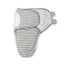 Envoltório do cobertor do bebê swaddle portátil de bambu swaddle ajustável