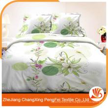 Professioneller Lieferant Großhandel billig Polyester Bett Blatt Stoff aus China