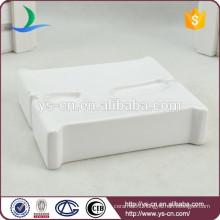 YSb40089-01-sd The English alphabet design ceramic shower soap dish
