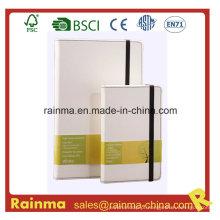 Caderno de capa dura de cor brilhante para promoção