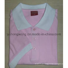 Camiseta de algodón de algodón con estampado de algodón
