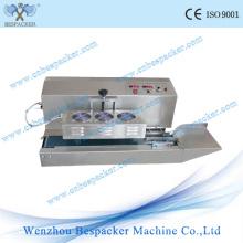 Máquina Automática de Selagem a Vácuo com Seladora de Indução Contínua