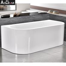 2021 Aoclear new cheap 52 inch small freestanding bathtubs bath tubs