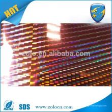 Kundenspezifischer selbstklebender Hologrammfilm / PET-Film / holographischer Vinylfilm