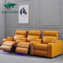 Best Selling Theater Sofa Electric VIP Cinema Recliner Chairs Cinema Seats Sofa Cinema Theater Seat Home Theater Seat