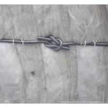 Alambre de embalaje de algodón de conexión rápida con bucles simples / dobles