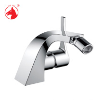 Classical Silver color hot cold water durable bathtub basin bidet faucet