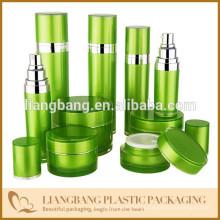 Bambu embalagem de cosméticos com frasco e garrafa