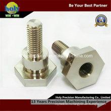Изготовленный на заказ CNC латунные гайки болта с Никелевым покрытием CNC подвергая механической обработке
