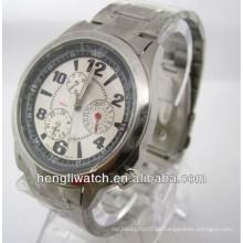 Relógio automático da forma, relógios de aço inoxidável 15028 dos homens