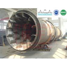 Séchoir à tambour rotatif série Hzg pour poudre magnétique