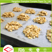 Hot Size 400mmx600mm and 450mmx 750mm Silicone Baking Parchment Paper