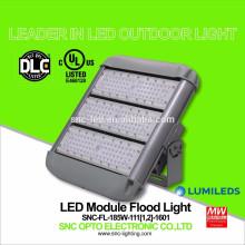 UL DLC Listed 185 Watt LED Outdoor Flood Light with Short / Long Bracket Mounting