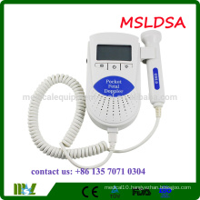 MSLDSB Affordable Baby Sound Fetal Doppler Ultrasound machine with CE ISO FDA approved