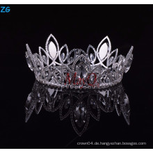 High Qulity Zhanggong Kristall fancy Haare Zubehör Jungen volle Runde Krone