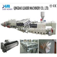 Máquina de folha de espuma de PVC para cofragem de construção