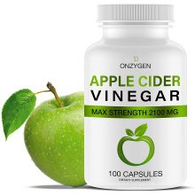 Natural Slimming Keto Diet 2100MG Green Apple Cider Vinegar Capsules With Mother For Weight Loss Fat Burner