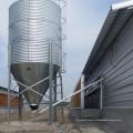 Galvanized Silo with Automatic Feeding Equipments