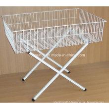 X Foot Metal Wire Dump Basket (PHY533)
