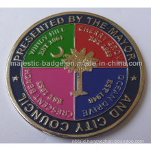 Challenge &Soft Enamel Coin