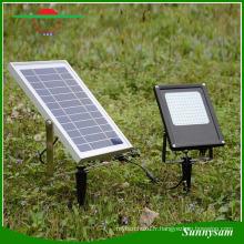 Durable 120LED 15W Energy-Saving IP65 imperméable à l'eau jardin lumière extérieure sécurité solaire projecteur d'énergie pour Pathway, pelouse, paysage