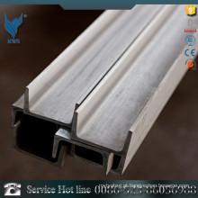 U canal 201 Comprimento barra de canal de aço inoxidável 3m preto concluída amostra grátis