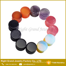 Natural stones for jewelry making body jewelry plug tunnels ear plug