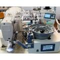 Automatic Feeding Shank Button Sewing Machine
