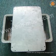 Motor de ventilador do radiador do die-casting da liga de alumínio