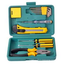 Ensemble d'outils de réparation Ensemble d'outils à main de ménage Ensemble d'outils de cadeau Ensemble d'outils