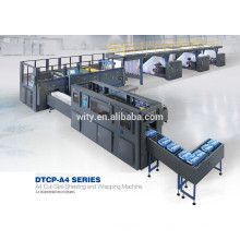 A4 paper cutting and packing machine