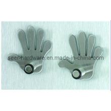 Crochet de forme de main, Set / 4 (SE2004)