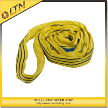 Polyester Lifting Round Sling in Yellow Color (En1492-2)