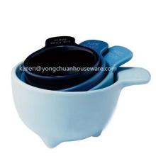 Set of Four Measuring Cups-Ceramic