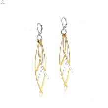 Women drop earrings stud,silver and gold stud drop earrings