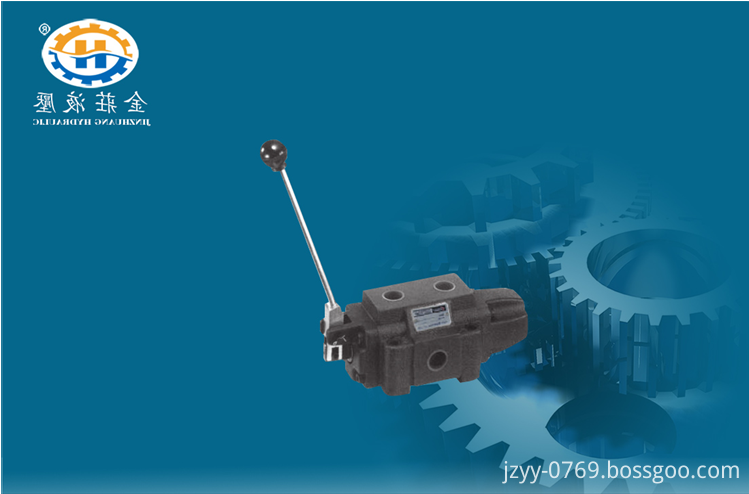 Manual gate valve with adjustable hydraulic pressure
