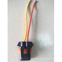 Soquete da lâmpada do carro da névoa do conector do bulbo com luz do diodo emissor de luz