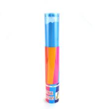 Blue Holi Powder Festival Pas de feu d'artifice Confetti Shooter pour la fête