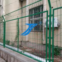 Hochwertiger PVC-beidseitiger geschweißter Drahtzaun