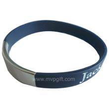 Fashion Silicone Wristband with Logo Printing