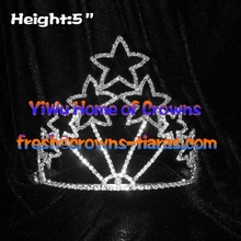 Wholesale Star Crystal Pageant Crowns