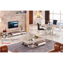 Mesa de café de acero inoxidable de la manera de los muebles caseros