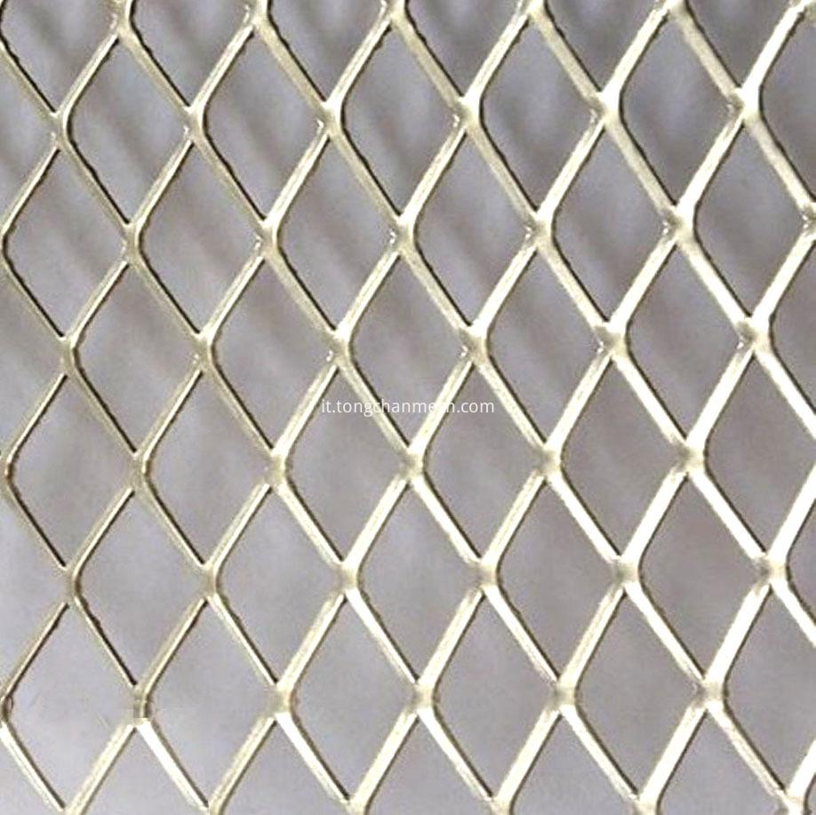 Coated Expanded Metal Mesh