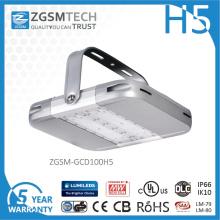 Aluminio anodizado que contiene luz de la bahía de 100W LED con IP66
